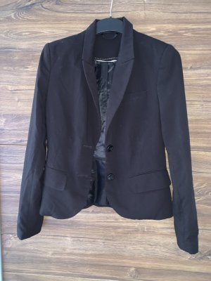 Hennes Collection by H&M Tuxedo Blazer black cotton