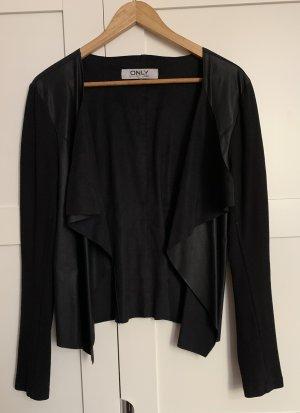 Only Leather Blazer black