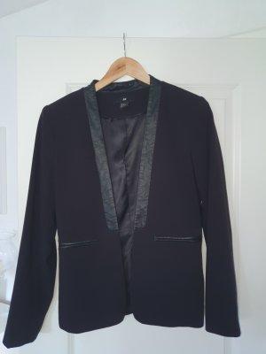 H&M Blazer sweat noir