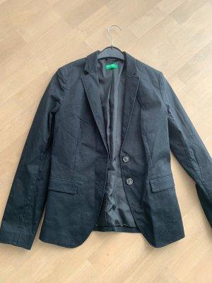 Benetton Klassischer Blazer zwart