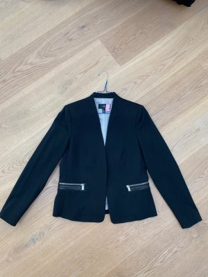 MANGO SUIT COLLECTION Tweed blazer zwart