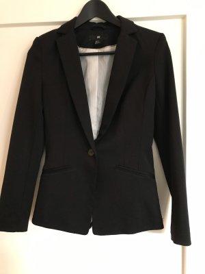 H&M Wool Blazer black