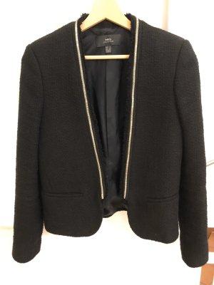 Schwarzer Blazer / Jacke von Mango