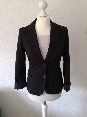 Schwarzer Blazer mit langen Ärmeln von Orsay
