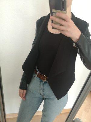 Amisu Blazer en jersey noir