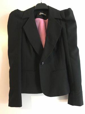 Chillytime Short Blazer black-pink polyester