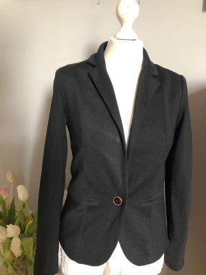 Promod Jersey blazer zwart Gemengd weefsel