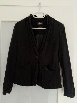 Review Blazer Boyfriend negro