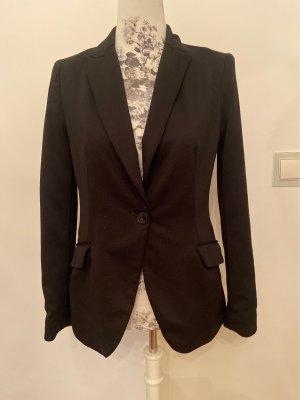 Schwarzer Blazer, Zara basic, M