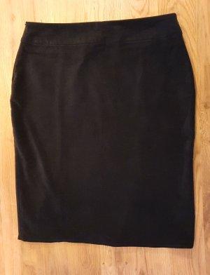 ae elegance Falda de tubo negro Algodón