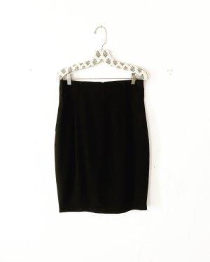 schwarzer bleistiftrock • high waist • klassisch • parisienne