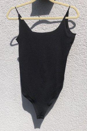 Amisu Basic Bodysuit black
