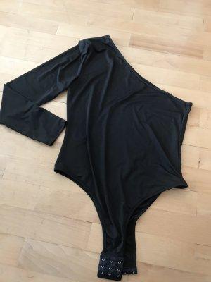 Schwarzer Body mit einem Ärmel