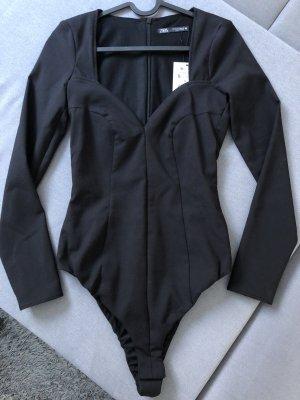 Schwarzer Body Zara