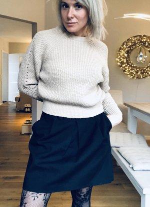 Zara Woman Falda globo negro