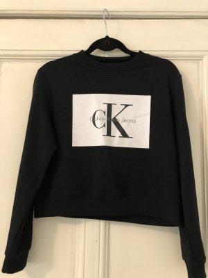 Schwarzer Calvin Klein Sweater Größe XS