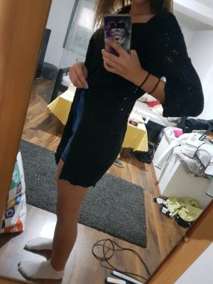 Schwarzer cardigan