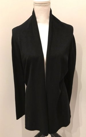 Darling Coarse Knitted Jacket black cotton