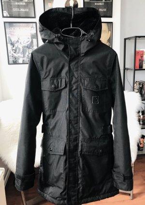 Schwarzer Carhartt Mantel Mountain Coat XS/S