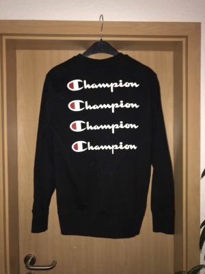 Schwarzer Champion Pullover