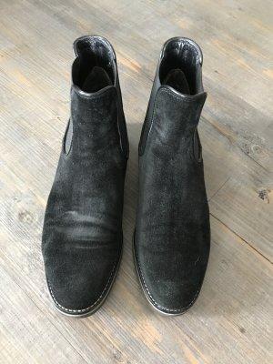 schwarzer Chelsea Boot 40,5 Gabor Gr 7