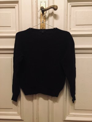 COS Gebreide trui zwart Gemengd weefsel