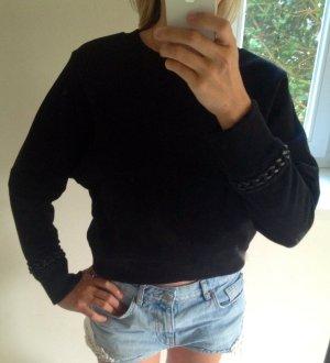 AllSaints Kraagloze sweater zwart