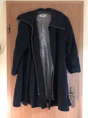 Schwarzer damen Mantel
