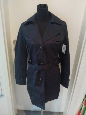 Schwarzer dünner Mantel in Größe 36 von C&A - neu