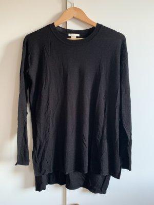 Schwarzer dünner Pullover von H&M