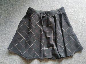 Tara Jupe mi-longue noir-marron clair