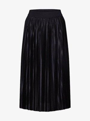 Bruuns bazaar Jupe à plis noir