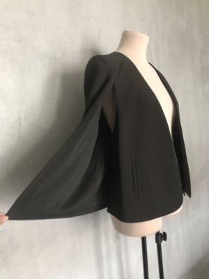 Fillity Unisex blazer zwart Polyester