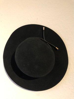 & other stories Sombrero de fieltro negro-color oro