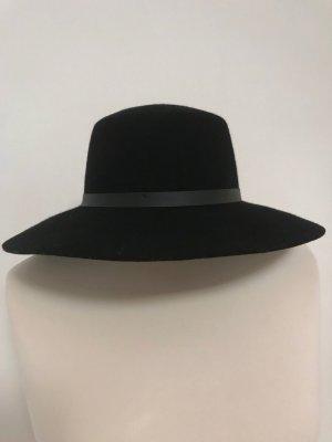 H&M Divided Vilten hoed zwart Wol