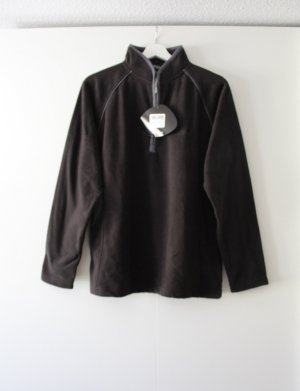 Regatta Pullover in pile nero-grigio