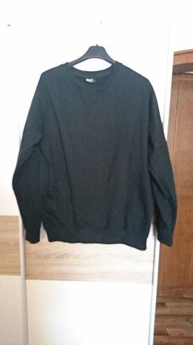schwarzer gemütliche Pullover