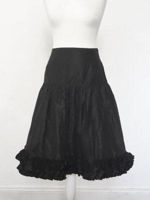Beatrice Hympendahl Zijden rok zwart Zijde