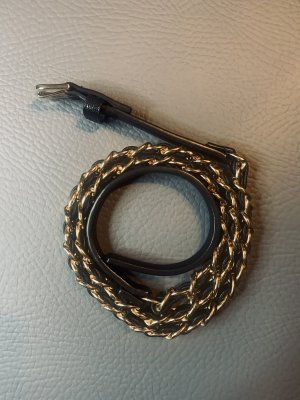 Chain Belt black-gold-colored