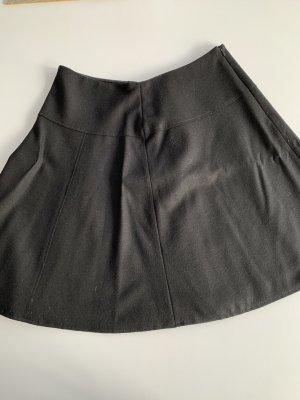 Turnover Flared Skirt black
