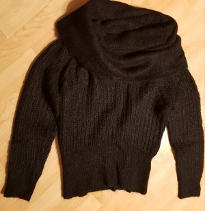 Tiger of sweden Coarse Knitted Sweater black mohair