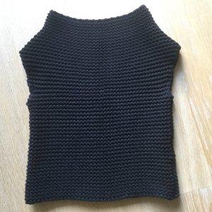 Gucci Sweter bez rękawów czarny Wełna