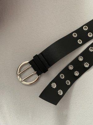 SheIn Double Belt black