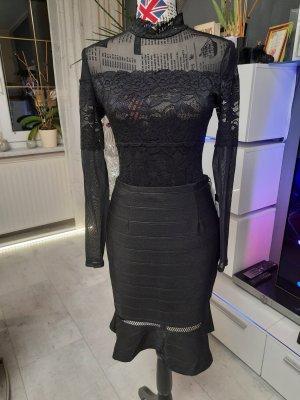 Guess Flounce Skirt black