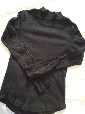 H&M Colshirt zwart