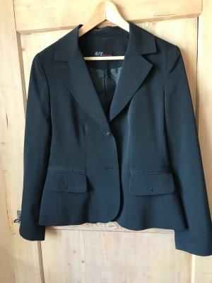 Aust Tailleur-pantalon noir polyester