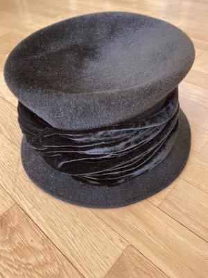 Bronté Cappello di lana nero