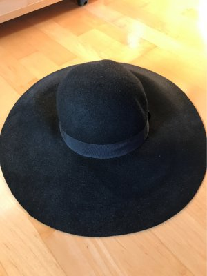 H&M Chapeau à larges bords noir