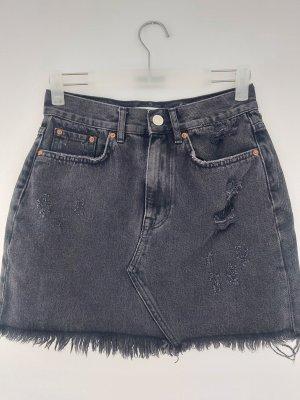 Costes Jupe en jeans noir