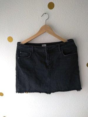Pimkie Denim Skirt black cotton